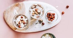 4 Chia Pudding Recipes So You Don't Even Have To Think About Breakfast Chai Spice Recipe, Food Intolerance Test, Perfect Pumpkin Pie, Make Ahead Breakfast, Breakfast Recipes, Food Test, Food Shows, Home Food, Chia Pudding