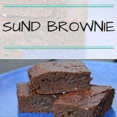 Smagsløgene kan næsten ikke tro på, at den her svampede og lækre brownie er sund. Men det er den altså!