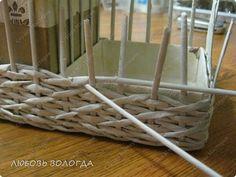 Мастер-класс Плетение Плетеночка Третья серия Трубочки бумажные фото 6