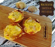 Ponto de Rebuçado Receitas: Mini fritattas com peito de peru e queijo