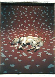 "William Wegman, ""Floor Pieces"", 1992"