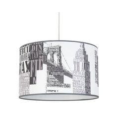 Suspension boule papier NEW YORK - Vente de Luminaire enfant ...