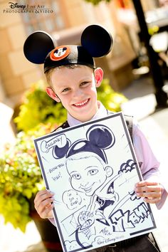 Caricature portraits make for a great reception activity and keepsake