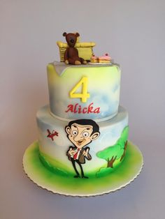 Mr.Bean birthday cake  by Layla A
