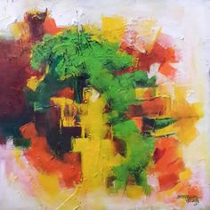 Buy Handmade Paintings, Contemporary Indian Art, Abstract Paintings, Canvas…