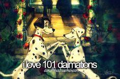 101 dalmatians!!! My favorite disney movie! <3