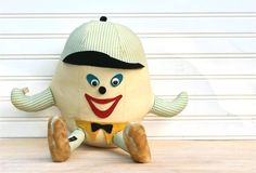 Vintage Circa 1950s Mr Touchdown Football Character by ivorybird, $16.00