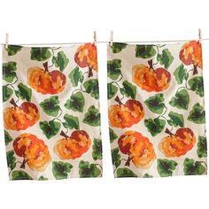 martha stewart collection 3 pc hand picked herbs kitchen towel set rh ar pinterest com