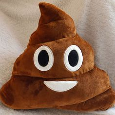 hahahahaha!  Poop Emoji Pillow by MyEmojiPillows on Etsy