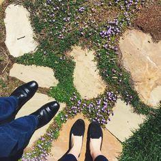 feet & flowers