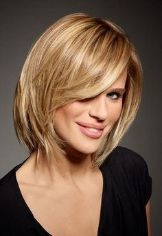 Shoulder length haircuts for women