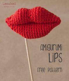 Hemos recibido varios correos solicitándonos el patrón de los labios amigurumi  que os enseñamos aquí , ¡y ya lotenéisdisponible!      ...