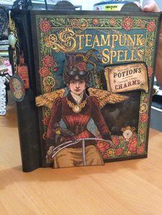 Craft Room Secrets: Graphic 45 Steampunk Spells Collection Album