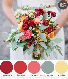 Colors! #loveinthedetails #dreamfallwedding #beckywade www.beckywade.com