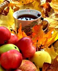 Moscow Mule Mugs, Tea Time, Good Morning, Apple, Fruit, Tableware, Autumn, Buen Dia, Apple Fruit