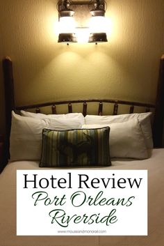 Can't decide which hotel to stay in at Walt Disney World? Read our hotel review of Port Orleans Riverside before you book! We've got pros and cons for families and adults only travelers alike. Disney Resort Hotels, Disney World Hotels, Disney Destinations, Disney World Florida, Disney Vacation Club, Disney Vacation Planning, Disney World Planning, Disney Vacations, Disney Trips