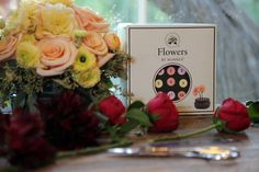 DIY Flower arranging kit using Flowers by Number #flowerparties