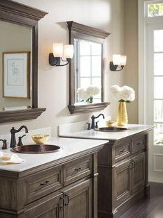 White bathrooms bathroom sconces white and blue bathroom beadboard bathroom white for Omega bathroom vanity cabinet