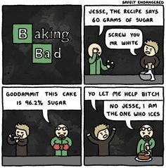 SAFELY ENDANGERED - Baking Bad
