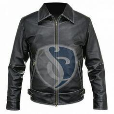 Men's leather fashion jacket. Made of Buffalo crispy leather. Art#3002 www.stylightco.com