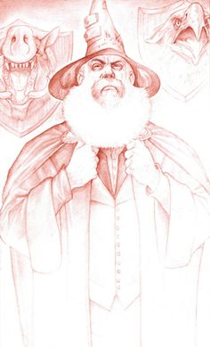 Mustrum Ridcully, Archchancellor of Unseen University by Paul Kidby