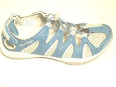 Mountrek Blue / Gray Vista HIiker Track Sport Sandals-Women (6.5 M) *** Check out the image by visiting the link.