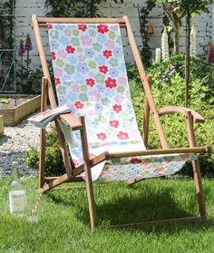 DIY Deck Chair Cover