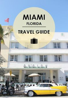 Mainly touted as a beach city, Miami is so much more than blue skies and sand. In our travel guide, we'll share our finds from our time there and our must sees and dos!