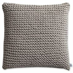 Knitted pillow Found@ Jcpenny