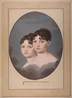 "The daughters of King Max I. Joseph and Queen Karoline of Bavaria.   Elisabeth Ludovika, Princess of Bavaria and Queen of Prussia (""Elise"") (13 November 1801–14 December 1873), married Frederick William IV of Prussia.    Amalie Auguste, Princess of Bavaria and Queen of Saxony (13 November 1801–8 November 1877), married John I of Saxony. Twin sister of Elisabeth"