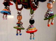 Klicke um das Bild zu sehen. Bonhomme bouton - #Bonhomme #bouton Bead Crafts, Jewelry Crafts, Jewelry Art, Beaded Jewelry, Diy And Crafts, Crafts For Kids, Arts And Crafts, Handmade Jewelry, Jewellery