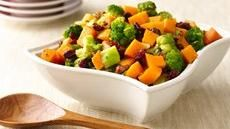 "Fit & trim and ""Oh So Good for You"" -Broccoli and Squash Medley recipe from Pillsbury. I think I will check this out"