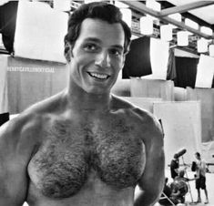 There's just wayyy too much going on in this pic. I don't know where to look first, that face, that smile or that buff chest 😍 Holy smokes… Henry Caville, Love Henry, Henry Superman, Le Male, Hairy Chest, Male Chest, Hommes Sexy, Hairy Men, Muscle Men