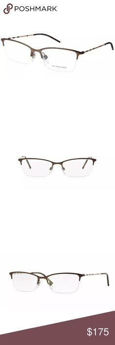 adcf1d6e961c BURBERRY Eye Glasses B12781012 Matte BROWN BURBERRY B 1278 1012 Eyeglass  Frames BROWN 53 17