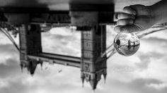 Tower Bridge in my cristal  #ElizabethPadillaPhotography