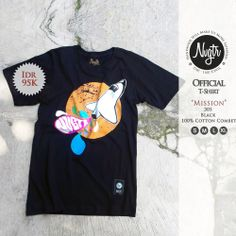#nvgtrTshirt 'MISSION'  Available size :  S.M.L.XL  IDR 95K,  Sms / WhatsApp / Line : 08562101653.