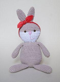 Coelha de bandana - yarn
