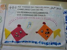 "Creche Municipal Maria das Neves Oliveira: PROJETO ""NOTA 10"" 2013 COM PARLENDA SE APRENDE Diy And Crafts, Crafts For Kids, Preschool Worksheets, Pre School, Activities For Kids, Origami, Children, Professor, 1"