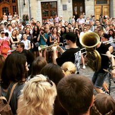 😍😇 #alfajazzfest#Lviv#streetmusic