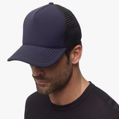 6887ea417c5 2016 Dark Navy Scuba Trucker Hat - James Perse Mens Trucker Hat