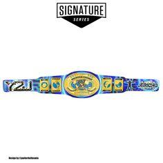 Wwe Chris Jericho, Wwe Championship Belts, Wwe Belts, Kurt Angle, Le Champion, Cm Punk, All About Time, Wrestling, Goat