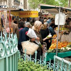 Food markets are always my first stop in a new city - Annabel Langbein