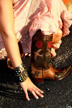 Cowgirl Boots are a must