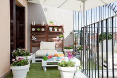 Decorar terraza de estilo chill out de forma rápida y barata
