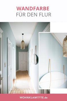 Der Flur ist der erste Raum, in dem wir unsere Gäste in Empfang nehmen. Bei uns ist es Zeit für eine neue Wandfarbe im Flur. (Bild via homeoftwocreatives)