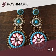 Statement earrings These fun earrings go with so much you'll want to wear them everyday Jewelry Earrings