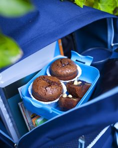Minimuffins met chocoladestukjes