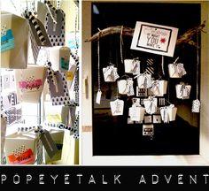 ♥ popeyetalk  Adventskalender N° 2
