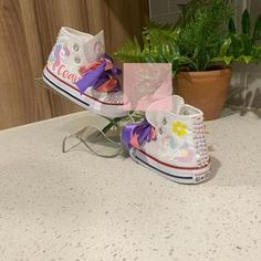 Unicorn Converse w/tutu backing   Etsy Mickey Shoes, Shipping Supplies, Bold Colors, Pastels, Tutu, Color Schemes, How To Find Out, Unicorn, Converse