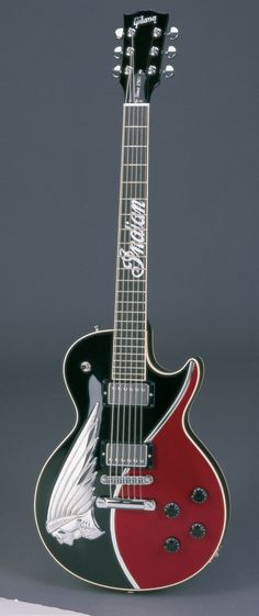Gibson Les Paul Indian Head Guitar -- (ode to Indian motorcycles)
